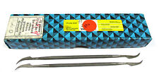 12 Grobet Swiss Vallorbe Präzisions Riffelfeilen L=170 SH-0 Nr.12857 Neu H16225