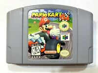 AUTHENTIC! Mario Kart N64 Nintendo 64 Game - Tested & Working!