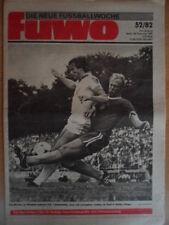FUWO 52 - 28.12. 1982 3* Sachsenring Zwickau BFC Dynamo Klaus Havenstein Dünger