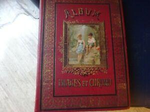 grand album ancien 1900s ,images et chromos, no paypal