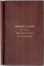 Church Plate in the Archdeaconry of Worcester by William Lea SIGNED 1st ed 1884