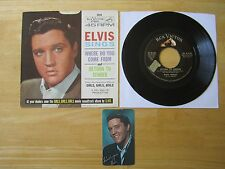 Elvis 45rpm record & Picture Sleeve, Return To Sender, # 47-8100, 1963 Calendar