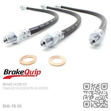 BRAKEQUIP BRAKE HOSE KIT [1960-62 HOLDEN FB-EK UTE/VAN/SEDAN/WAGON]