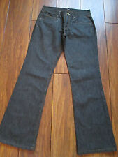 M&S UK 10 Medium Black/Grey Denim Boot Cut Jeans/Trousers IMMACULATE CONDITION