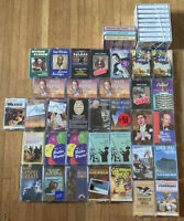 Lot 44 Vintage Cassette Tapes Big Band Polka Piano Orchestra Gospel Folk & More