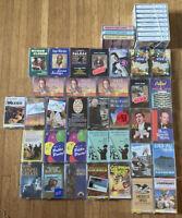 Lot 44 Vintage Cassette Tapes Big Band Polka Piano Orchestra Gospel Folk & More