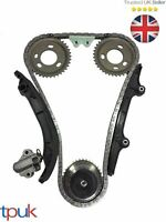 CITROEN RELAY TIMING CHAIN KIT 2.2 MK7 2006 ON W/ GEARS CHAIN GUIDES TENSIONER