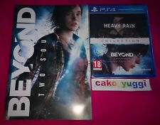 HEAVY RAIN BEYOND TWO SOULS COLLECTION SONY PS4 NEUF FR + ARTBOOK