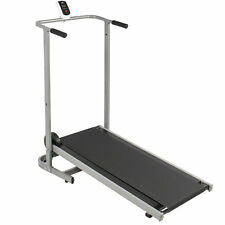 BCP SKY1821 Portable Folding Manual Treadmill