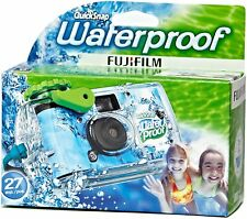 FujiFilm Disposable Cameras Quick Snap Waterproof Pool Underwater 35 mm 02/2021
