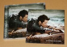 Alejandro Sanz Musica No Se Toca Walmart Ltd Signed Autographed CD RARE Sealed