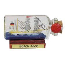 Bateau en Bouteille Gorch Fock , Décoration Maritime, Petit à 6 CM