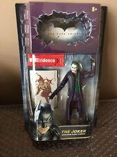 Batman The Dark Knight THE JOKER with Crime Scene Evidence Movie Masters Mattel