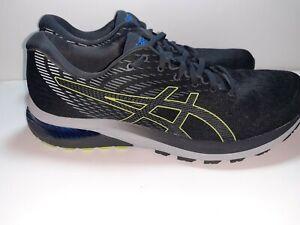 ASICS 1011A862 020 Gel Cumulus 22 Graphite Grey Lime Men's Running Shoes Us 13