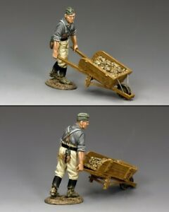 KING AND COUNTRY WH027 - Engineer with Wheel Barrow