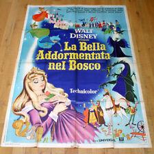 LA BELLA ADDORMENTATA NEL BOSCO poster manifesto Disney Sleeping Beauty G20