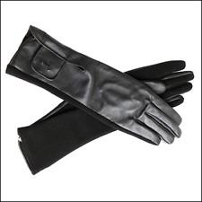 WEINIGER ALS 80% TRUSSARDI - Lange Handschuhe aus Schafsleder und Wolle