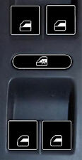 Button Decals VW POWER WINDOW SWITCH Touareg Jetta REPAIR