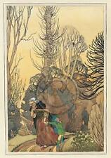 Hansel and Gretel, Fairytale, Grimm, 1920s, A3 Poster Print - BUY 1 GET 1 FREE