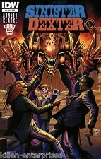 Sinister Dexter #6 (of 7) Subscription Variant Comic Book 2014 - IDW