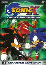 Sonic X Series New Anime 2 DVD Box Set Chaos and Shadow Sagas