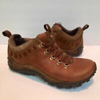 Merrell Womens Chameleon Arc Traveler J87654 Brown Hiking Shoes Lace Up Size 6.5