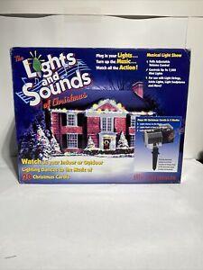 Mr. Christmas Outdoor Lights and Sounds of Christmas Musical Light Show 67791