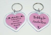 Personalised Keyring for Mum, Auntie Gift, Gift for Nan, Key chain Gift,