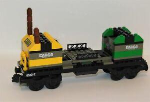 LEGO Cargo Train Car ONLY from #4512 NOT COMPLETE World City 2003