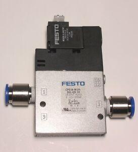 Festo Magnetventil CPE18-M1H-3GL-QS-10; Nr. 163157
