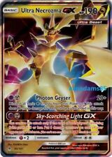 Pokemon SM6 Forbidden Light Ultra Necrozma GX Ultra Rare Card 95/131