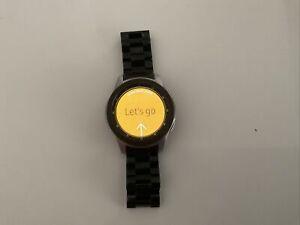 Samsung Galaxy Watch R800 Bluetooth 46mm -Smartwatch-Black & Silver Metal Strap
