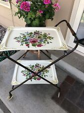 Vintage Two Tiered Tea Cart