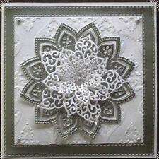Flower Frame Metal Cutting Dies Stencil Scrapbook Embossing Craft Album Decor
