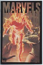Marvels #1 Jan 1994 Nm/Mt 9.8 W Alex Ross Cover Human Torch Sub-Mariner Acetate