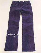 MINI BODEN Girls Dark Blue Straight Fit Corduroy Pants Size 11