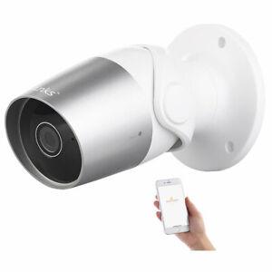 7links Outdoor-IP-Überwachungskamera, Full HD, WLAN, kompatibel zu Echo Show