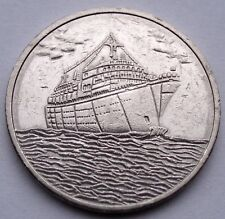 US, Holland-America Cruise Line 25 CENTS 1994 Casino Token 25mm 5.7g CuNi GG10.4