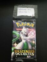 Booster Pokemon Destinées Occultes SL11.5  -  illustr. MEWTWO  -  Français