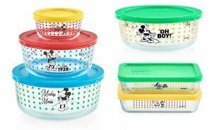 Pyrex Disney The True Original Mickey Mouse 12 Pcs Storage Bowl Set-NIB-Sold Out