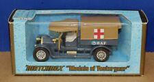 Matchbox Yesteryear Y13 1918 Crossley RAF Tender Ambulance 1:47 '73 T2 12 spoke