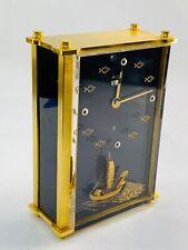 Vintage Jaeger LeCoultre alarm clock Swiss made