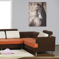 Horse Oilcolor Wall Painting Canvas Picture Art Print Unframed Mural Home