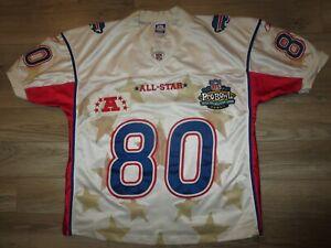 Eric Moulds #80 Buffalo Bills NFL Pro Bowl Reebok Jersey 54