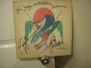 Eagles signed lp ***1972***On the border ****