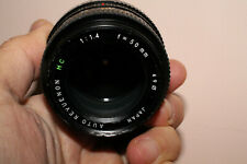 Objectif Revuenon 50 mm 1,4 Pentax K