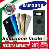 SCOCCA POSTERIORE ORIGINALE per SAMSUNG GALAXY S7 EDGE SM-G935F BACK COVER VETRO