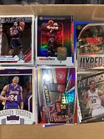 🔥HUGE NBA Inserts Lot 250+. Complete your Sets...Donruss, Optic, And More🔥