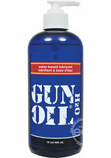 Gun Oil H2O Water Based Personal Lubricant 16oz Made in USA