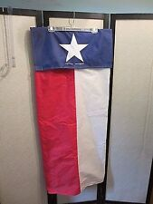 Golf Bag Rain Cover State Flag of Texas Swingin' in the Rain Made in Texas Used